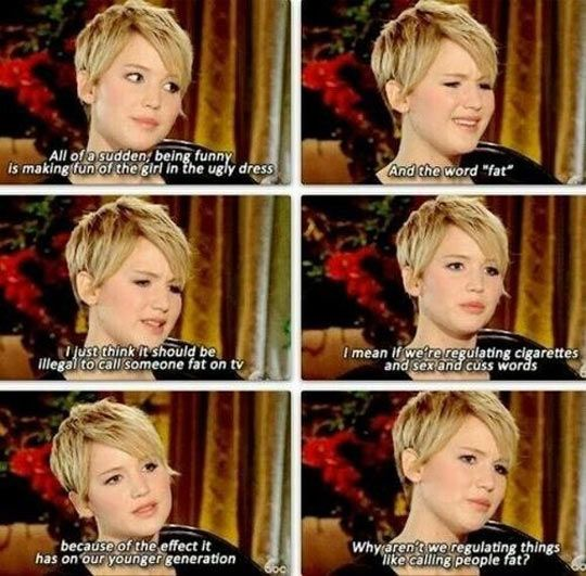 I love her for this reason...