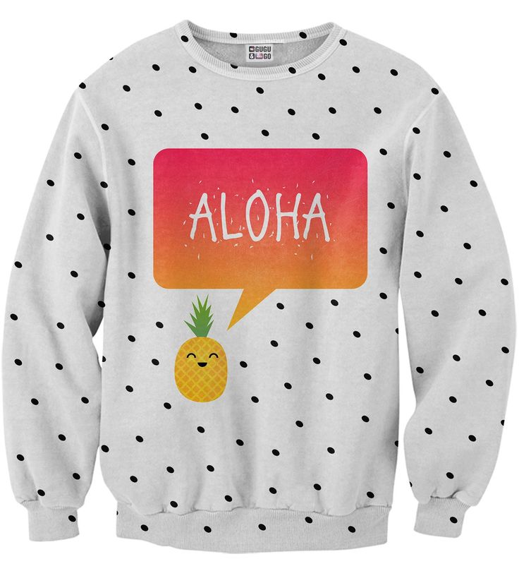 Aloha sweater, Mr. GUGU & Miss GO