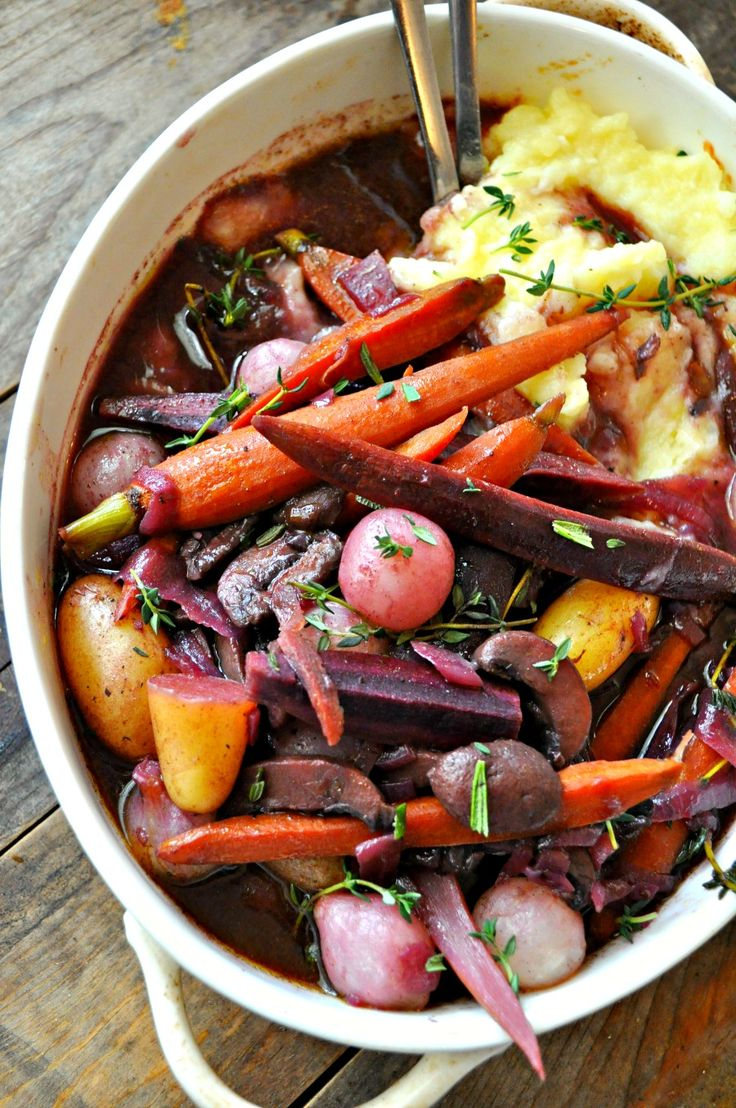 Vegan Coq Au Vin Recipe Recipes from Rabbit and Wolves