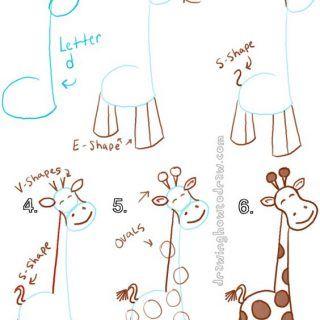 Hayvan Resimleri Nasıl Çizilir? 39