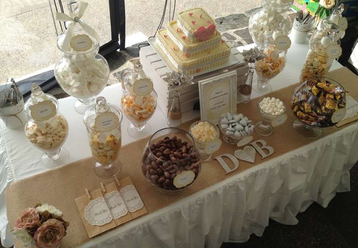 Rustic Lolly Buffet Wedding Party Ideas   Photo 5 of 25   Catch My Party