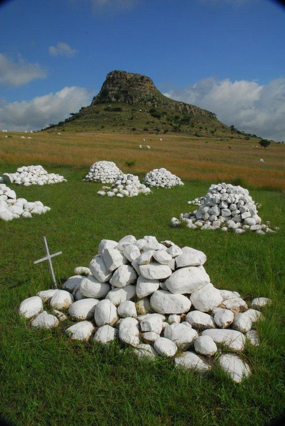 Isandlwana and Rorke's Drift Battlefields - KZN Midlands  Bear witness to what remains of the fierce battles of the Anglo Zulu War of 1879.  WhereToStay Midlands & Battlefields https://goo.gl/HPQCAY
