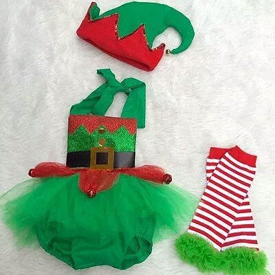 Elf sparkle romper holiday rompers Santa christmas pictures outfit baby girl first christmas green elf romper cake smash Christmas pictures outfit