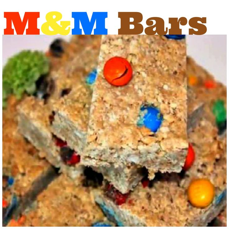 These homemade M Granola Bars require just 4 ingredients and serve as a great after-school snack for kids! // #AfterSchool #Snack #Kids
