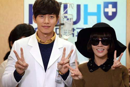 'My Daughter Seo Young' Choi Yoon Young and Park Hae Jin Pose For Picture