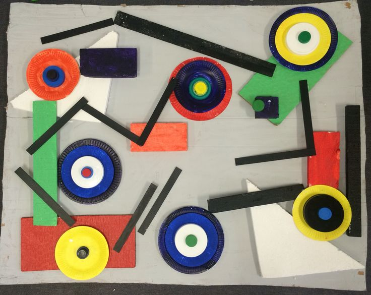 K/1 collaborative work in the style of Kandinsky