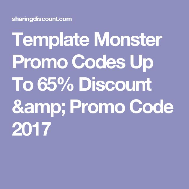 template monster promo codes up to 65 discount promo code 2017