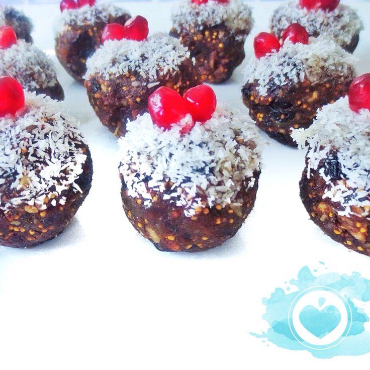 Christmas chai spice truffle balls