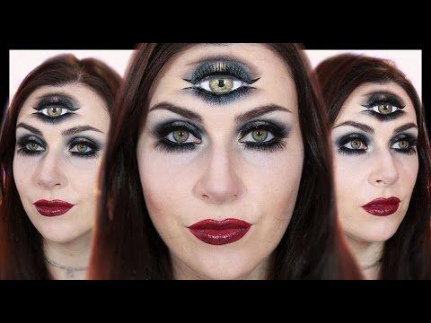 Fortune Teller / Third Eye Makeup | Halloween 2015