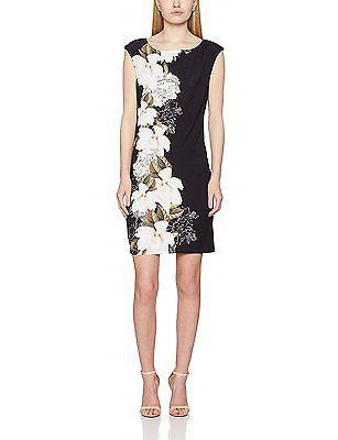 12, Black, Wallis Petite Women's Side Placed Dress NEW