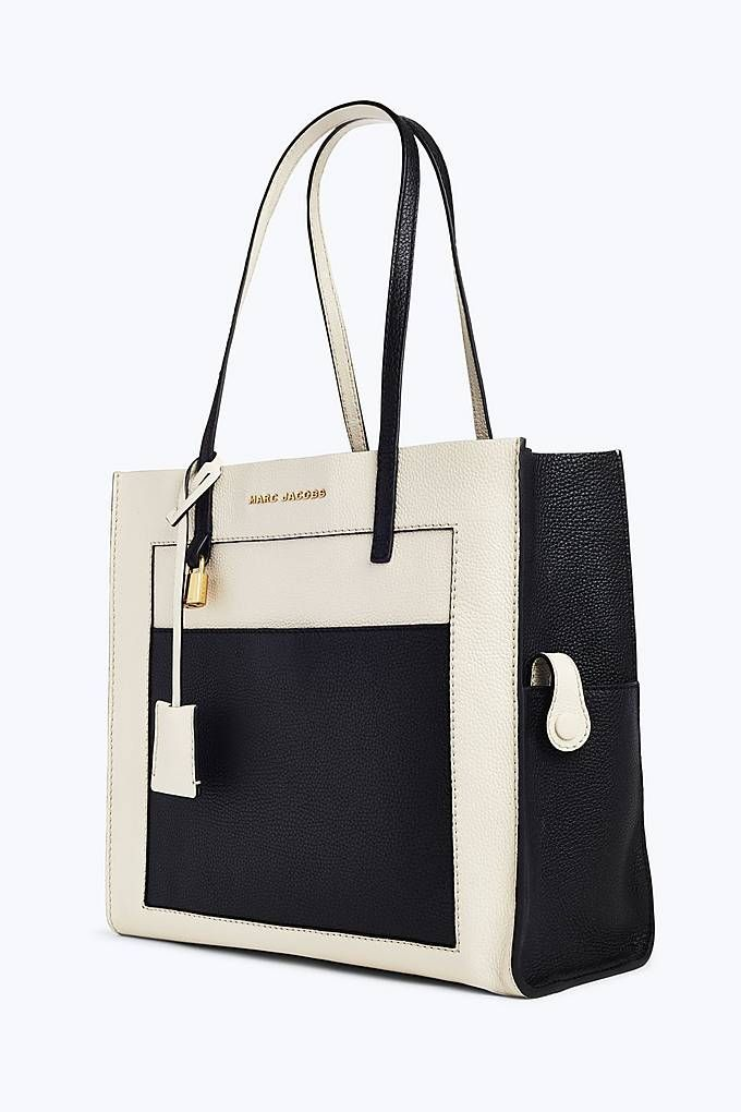 Marc Jacobs The Colorblock Grind Shopper Tote Bag in Cloud White ... 3833bde7ae2b