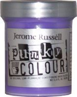 JEROME RUSSELL Punky Colour Hair Color Crème Platinum Blonde Toner 3.5 oz by Jerome Russell. $7.49. Professional Features:-The original, semi-permanent, intense hair coloring cream. -Vegetable based conditioning cream, leaves hair vivid and smooth. -These latest colors work outrageously on bleached or chemically-treated hair. -PUNKY will give a highlighted effect when used on darker hair. -No peroxide required.