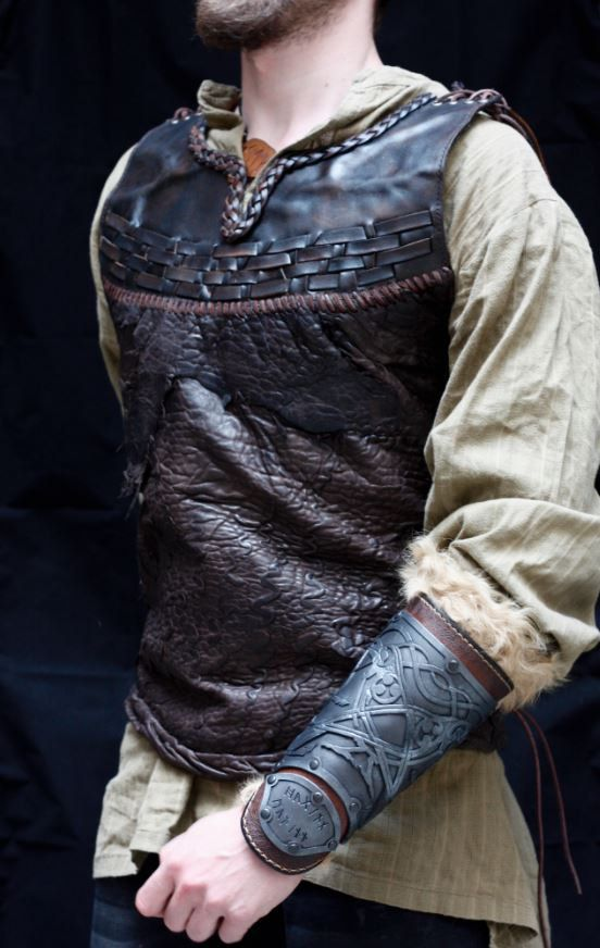 Studded Armor Leather Tunic
