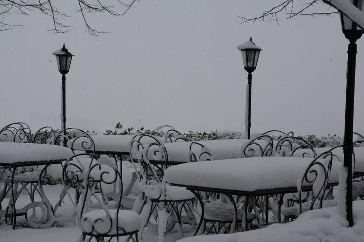 Belvedere by winter