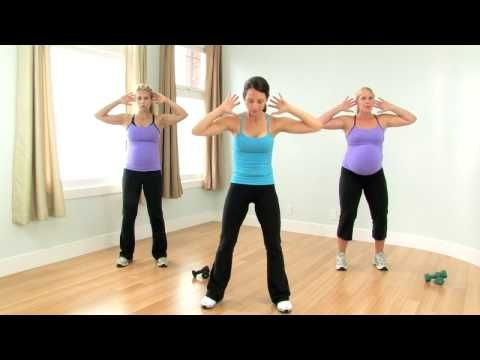 Prenatal workout with Autumn Calabrese