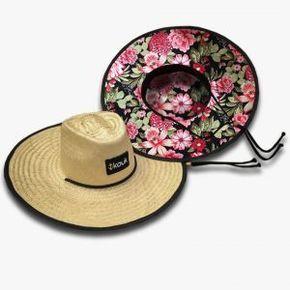 37379b77b27ba Chapéu de Palha Surf Chapéu de Palha Estampado Chapéu de Palha com Estampa  Chapéu de Palha