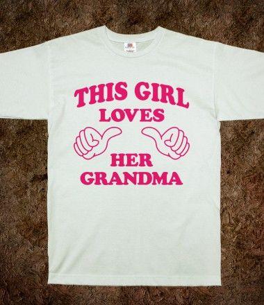This #Girl Loves Her #Grandma #love #thumbs #skreened