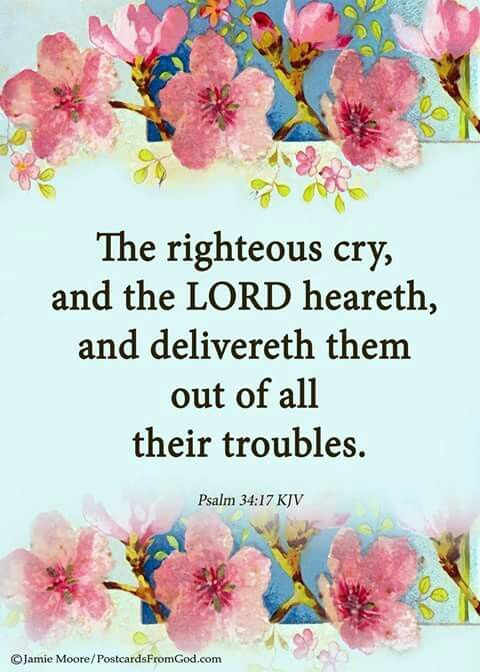 The Lord delivers them out of their troubles.
