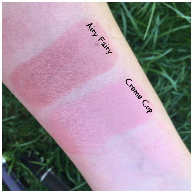 Rimmel_Airy_Fairy and Mac_creme_cup dupe