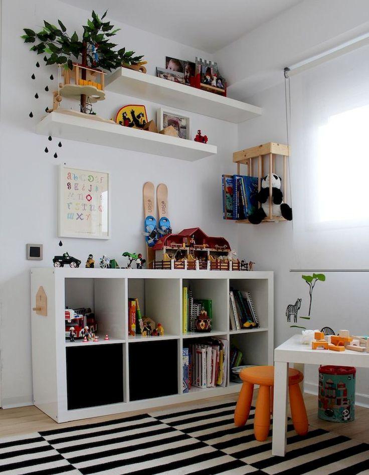 Magníficas ideas de almacenamiento para habitaciones y juegos infantiles. Https://jihanshan …