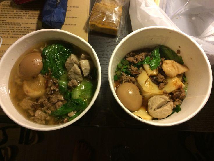 Local Taiwanese goodness 客家粄條