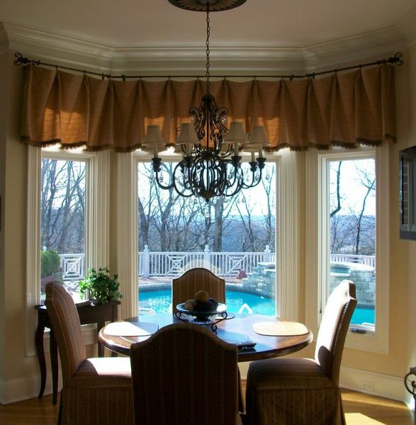 Bay Window Valances: 55 Best Images About Curtains On Pinterest