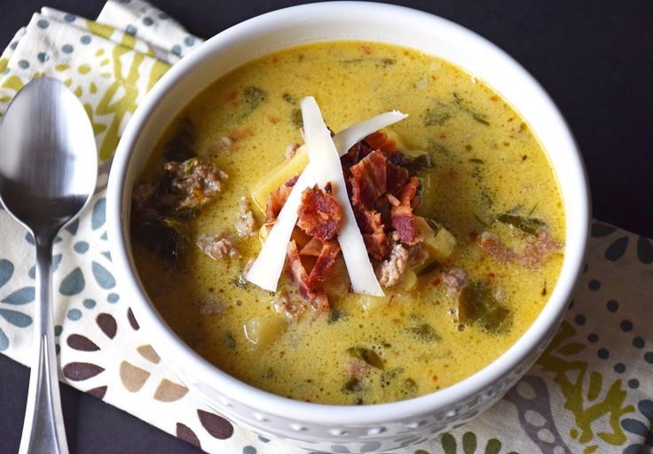 The first time I had this soup I thought I died and went to heaven. http://healthnutdiva.com/gluten-free-spicy-italian-soup/