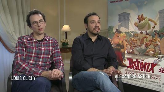 Notre itw vidéo avec @sgtpembry et Louis Clichy pour la sortie de #AsterixleDomainedesDieux http://www.premiere.fr/Cinema/News-Cinema/Video/Alexandre-Astier-J-ai-pu-choisir-l-album-d-Asterix-Je-n-allais-pas-le-massacrer-4089816 …