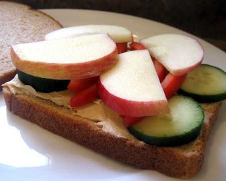 Nutrient-Heavy Sandwiches: Sandwiches are a picnic staple, but rather than making plain cold-cut sammies or PB, up the nutrient content by adding fruit or veggies to your sandwiches. Cucumbers and apples are both tasty options.