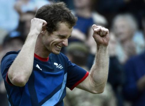 Congratulations, Andy Murray, Team GB, Gold Meal, Tennis, Men's Singles!