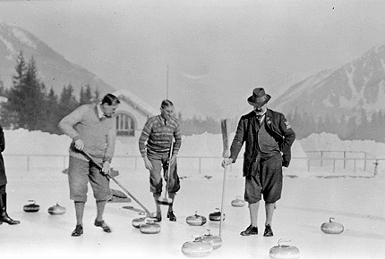 Curling at the Olympics - 1924