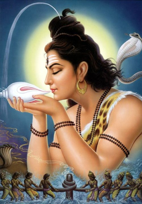Shiva drank the Halahala poison  (via Натараджа)