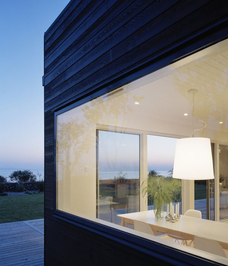 Moderne vinduer - design til moderne dansk byggeri | Velfac