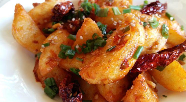 Crispy Fried Schezwan Potatoes | I ❤ Desi Chinese | Ching's Secret – Since 1996