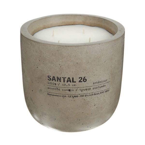 Le Labo Santal 26 Concrete Candle.