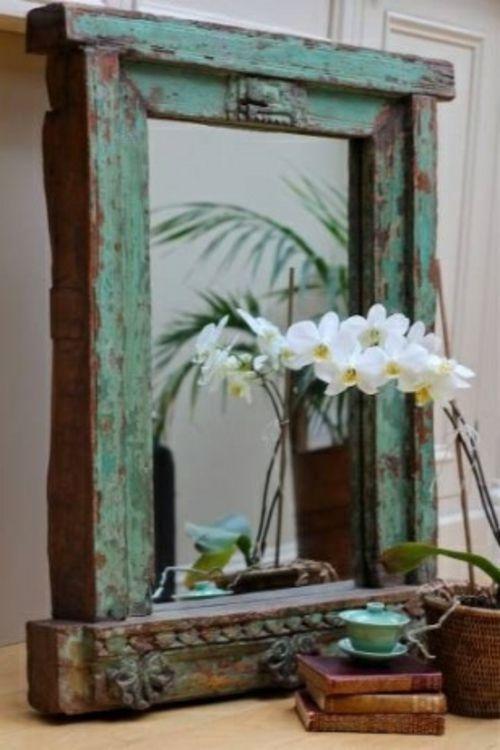 Die besten 25+ Spiegel rahmen Ideen auf Pinterest Rahmen für - stilvolle dekorationsideen schlafzimmer