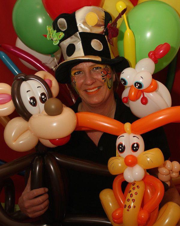 Prachtige ballon kunstwerken bij Joepie Binnenspeeltuin