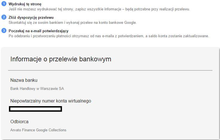 Na blogu znajduje się nasz nowy artykuł o konfiguracji profilu płatności w Google AdWords, zapraszamy do czytania!  http://semkonsultant.pl/platnosci-w-google-adwords/