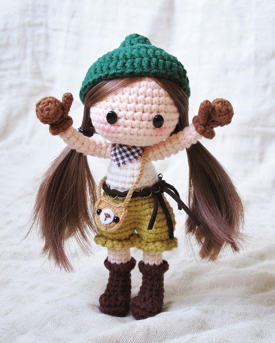 «Pattern by 猫小兜(@aihetangguo) #amigurumi #crochetdoll #craft #crochet»: