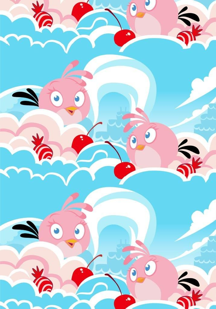 """""""Stella"""" fabric,150 cm - Angry Birds Interior Collection by Vallila"""