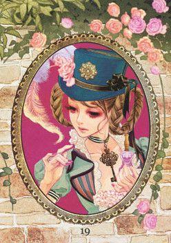 The Secret Garden Dresser - 六花弁三片紅