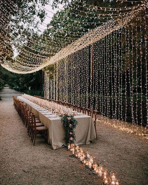 Inspirations : des décors suspendus pour votre mariage