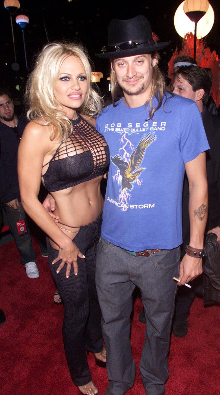Pamela anderson tommy lee wedding bands - Pamela Anderson And Kid Rock