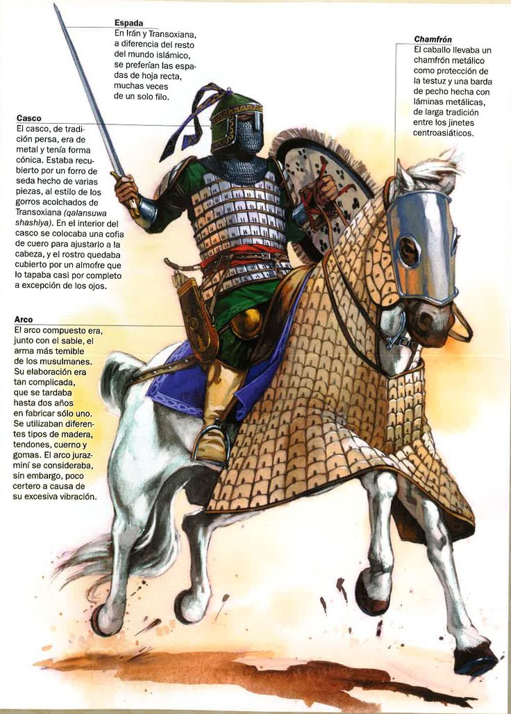 1200 - 1299 Khwarazmian cavalryman, XIII c.