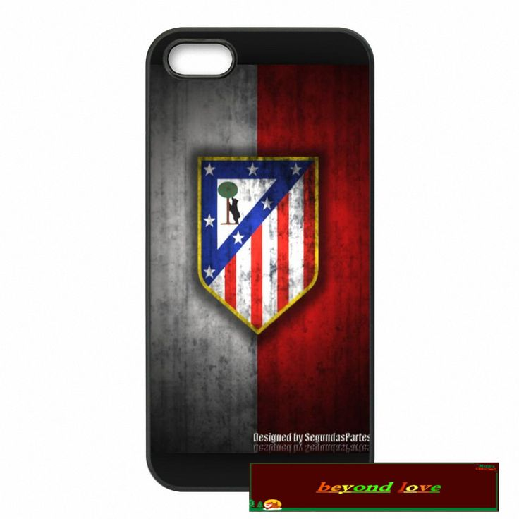 Club Atletico de Madrid S.A.D Logo Cover case for iphone 4 4s 5 5s 5c 6 6s plus samsung galaxy S3 S4 mini S5 S6 Note 2 3 4  S081