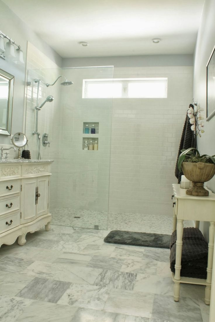 Master Bathrooms Without Bathtubs 304 best bath rooms images on pinterest | bathroom ideas, master
