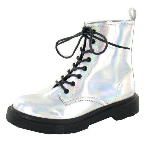 Womens Leather Look Goth Bovver Punk Ankle Boots Silver H... https://www.amazon.co.uk/dp/B00FYO73KM/ref=cm_sw_r_pi_awdb_x_GR9oybG12EBH3