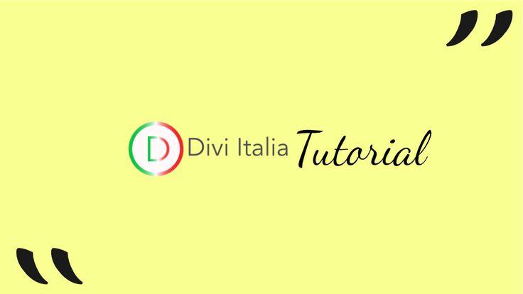 In questo tutorial, andremo a personalizzare il blockquote, creando un'effetto evidenziatore, che si attiverà al passaggio del mouse. #divi #divitutorial #divibuilder #diviplugin divi tutorial in italiano