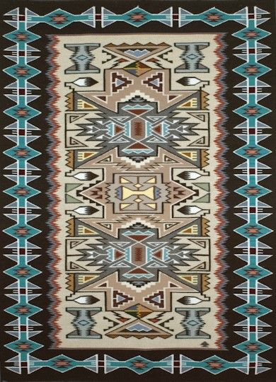 Navajo Weaving - Teec Nos Pos 02 http://www.williamwhitehair.com/rugs.html