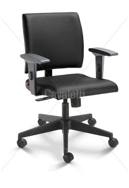 Cadeira Executiva Slim Base Nylon 18004 SRE    http://mundialcadeiras.com.br/slim-18004-cavaletti-nylon